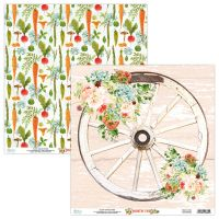 "Дизайнерски лист хартия ""Country Fair""-04, Mintay Papers, 30.5см"