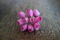 Пъпки на роза, розови, 10бр.