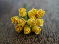 Пъпки на роза, жълти, 10бр.