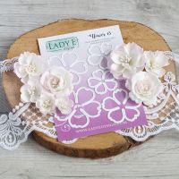 """Щанци за изрязване """"Flower 013"""", Lady E Design"""