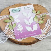 """Щанци за изрязване """"Leaves 9"""", Lady E Design"""