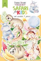 "Дизайнерски хартиени елементи ""Safari for kids"", Fabrika Decoru"