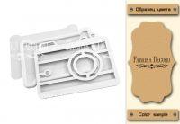 """Шейкър комплект """"Фотоапарат"""" - крафт цвят, Fabrika Decoru"""