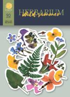 "Дизайнерски хартиени елементи ""Herbarium Wild Summer"", Scrapmir"