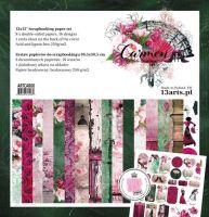 """Дизайнерски комплект """"Carmen"""", 30.5см, 13@rts"""