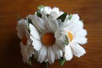 Маргаритки, бели, 45 мм.