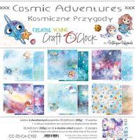 """Дизайнерски комплект хартии """"Cosmic Adventures"""", 30.5см, Craft o'Clock"""