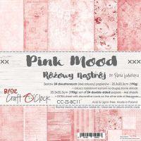 """Дизайнерски комплект хартии """"Basic 11 - Pink Mood"""", 20см, Craft o'Clock"""