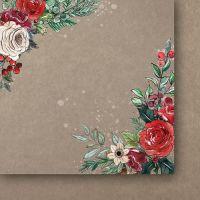 """Дизайнерско блокче хартии """"A Christmas Garland"""", 15см, PH"""