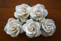 Рози, бели, 25 мм