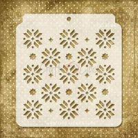 """Стенсил """"Коледен десен - 04"""", Craft o'Clock"""