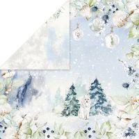 """Дизайнерски лист хартия """"Arctic Winter"""" -3 - 30.5см, Craft&You Design"""