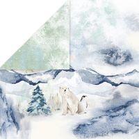 """Дизайнерски лист хартия """"Arctic Winter"""" -4 - 30.5см, Craft&You Design"""