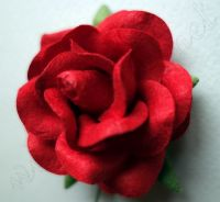 Роза, червена, 45мм