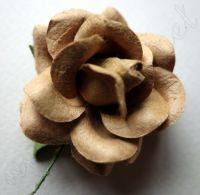 Роза, кафява, 45мм
