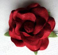 Роза цвят бордо, 50 мм
