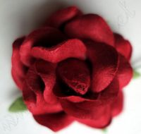 Роза, бордо, 45мм