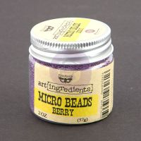 Prima Art Ingredients - Micro Beads - Berry