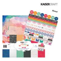 "Дизайнерски комплект хартии  ""Chase rainbows"" - 30.5см х 30.5см"
