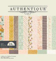 """Дизайнерско блокче хартии """"Grace"""", 15см, Authentique"""