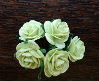 Рози, светлозелени, 20мм