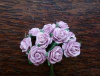 Рози, светлолилави, 15мм