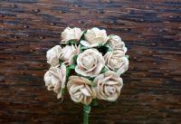 Рози, бежови, 10мм