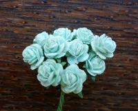 Рози, цвят мента, 10мм