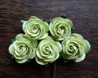 Рози, светлозелени, 25мм