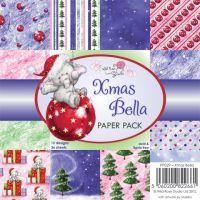 """Дизайнерски блок хартии """"Коледата на  Бела"""""""