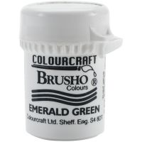 Сух пигмент Brusho Crystal - изумрудено зелено