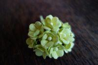 Букет от 10бр. жълто-зелени цветчета, 15мм