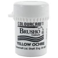Сух пигмент Brusho Crystal - Yellow Ochre