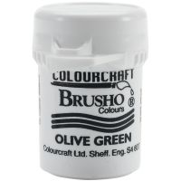 Сух пигмент Brusho Crystal - Olive Green