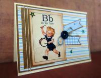 """Картичка за момче """"Малкият барабанчик"""""""