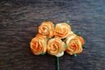 Рози, оранжево-жълти, 25мм