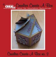 Шаблон за изрязване на кутийка - вариант 2