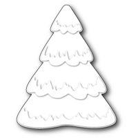 """Щанца за изрязване """"Пухкаво снежно дърво"""""""