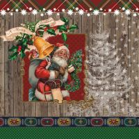 """Салфеткa """"Дядо Коледа"""", 1бр."""