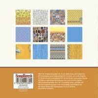 "Дизайнерски комплект хартии ""Средиземноморски мечти"", 15х15"
