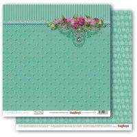 """Дизайнерски комплект хартии """"Скъпоценни камъни"""", 30.5 х 30.5"""