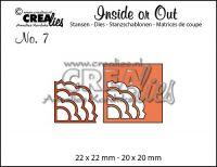 Комплект щанци за изрязване на декоративни ъгълчета №7