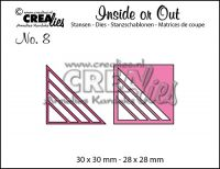 Комплект щанци за изрязване на декоративни ъгълчета №8