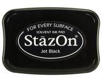 """StazOn мастило """"Jet Black"""""""