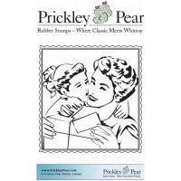 """Гумен печат """"Подаръка на майката"""", Prickley Pear"""