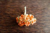 Цветенца, оранжев цвят, 15мм