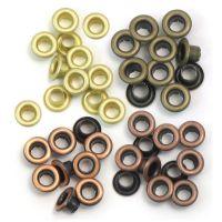 Айлети - стандартни, топли метални цветове, 60бр.