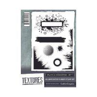 """Комплект гумени печати без подложка """"Кръгчета и аксесоари 1"""", Crafter's Companion"""