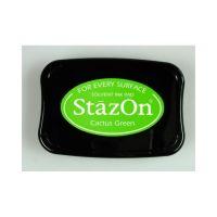 """StazOn мастило """"Cactus Green"""" - 8см х 5см"""