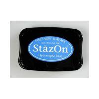 """StazOn мастило """"Hydrangea Blue"""" - 8см х 5см"""
